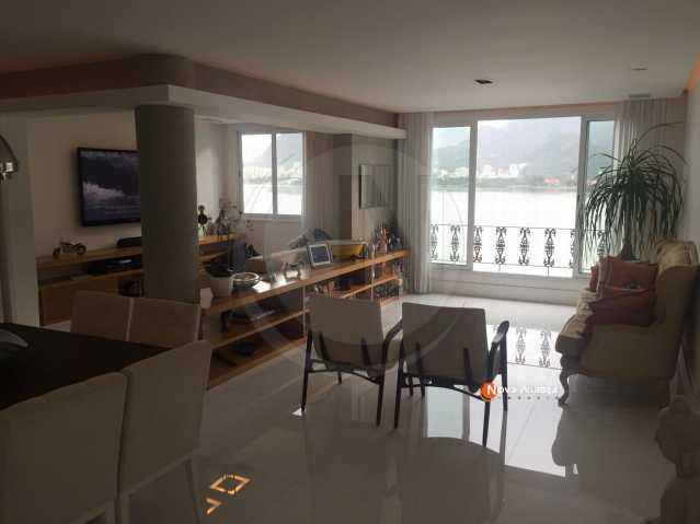 1 - Apartamento à venda Avenida Epitácio Pessoa,Lagoa, Rio de Janeiro - R$ 4.500.000 - NBAP20454 - 3