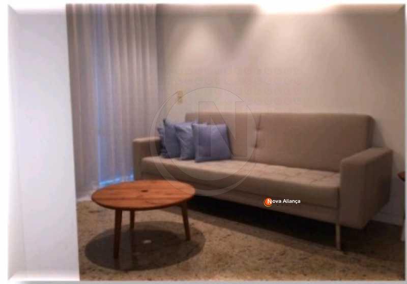 Nova Imagem de Bitmap 13 - Flat à venda Avenida Lúcio Costa,Barra da Tijuca, Rio de Janeiro - R$ 1.105.000 - NTFL10001 - 11