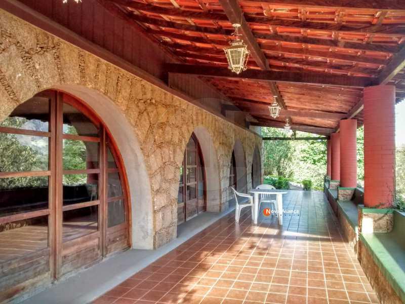 ENTRADA DO RESTAURANTE - Casa em Condomínio à venda Rua Carvalho Júnior,Corrêas, Petrópolis - R$ 260.000 - NICN10001 - 1