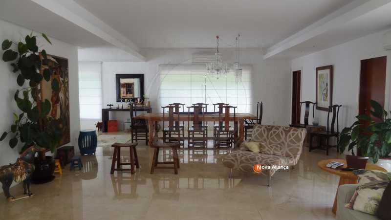 DSC01025 - Casa à venda Rua Alexandre Stockler,Gávea, Rio de Janeiro - R$ 10.000.000 - NICA50009 - 4