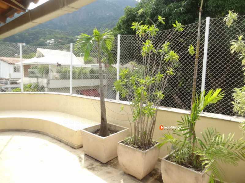 DSC00882 - Casa de Vila à venda Rua Pacheco Leão,Jardim Botânico, Rio de Janeiro - R$ 5.800.000 - NICV40006 - 30