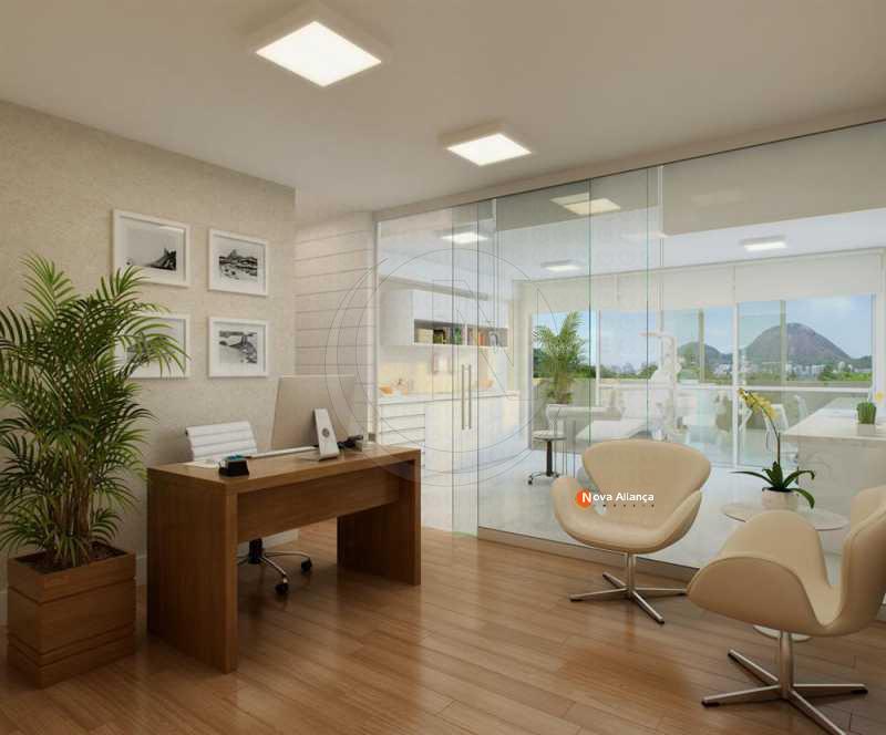 ImagemNot 4 - Sala Comercial 77m² à venda Rua Jardim Botânico,Jardim Botânico, Rio de Janeiro - R$ 881.000 - NBSL00072 - 5