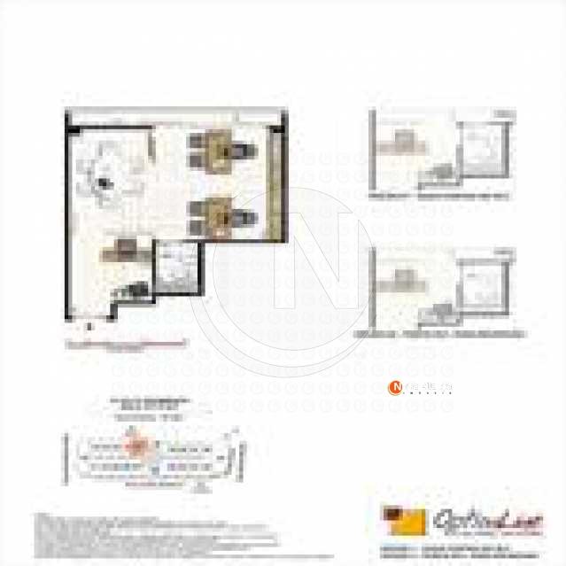 Imagem - Sala Comercial 25m² à venda Rua Jardim Botânico,Jardim Botânico, Rio de Janeiro - R$ 635.000 - NBSL00081 - 3