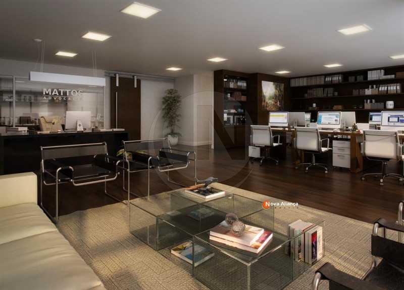 ImagemNot 3 - Sala Comercial 131m² à venda Rua da Alfândega,Centro, Rio de Janeiro - R$ 1.372.176 - NBSL00085 - 5