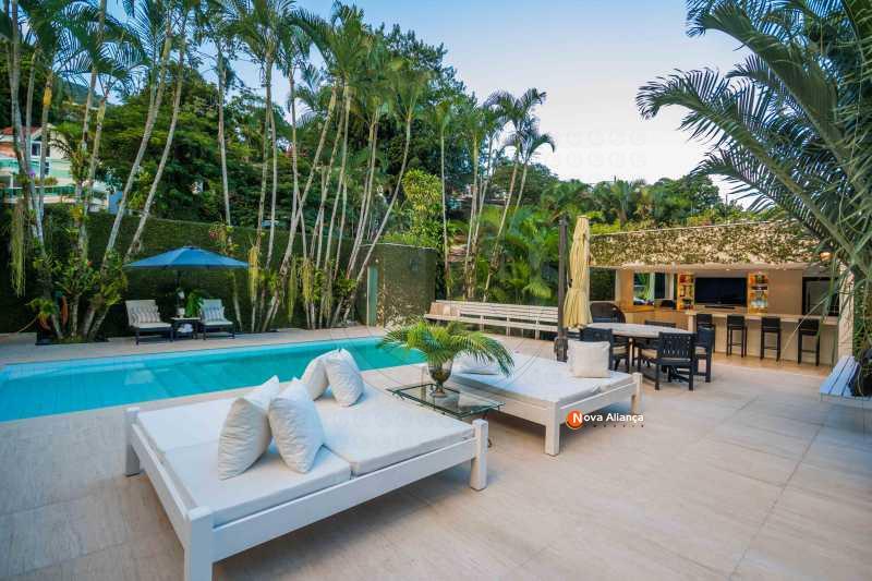 1 - Casa em Condomínio à venda Rua Julieta Niemeyer,São Conrado, Rio de Janeiro - R$ 4.900.000 - NICN40005 - 15