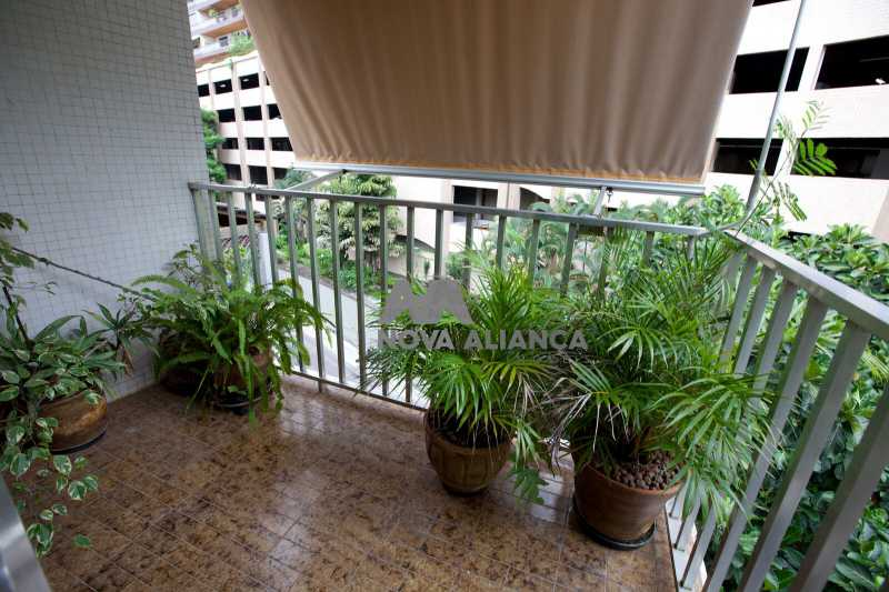 varanda suite_preview. - Apartamento À Venda - Leblon - Rio de Janeiro - RJ - NIAP30817 - 27