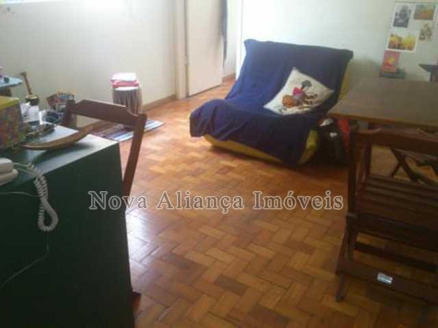 sala1 - Apartamento à venda Rua Benjamim Constant,Glória, Rio de Janeiro - R$ 420.000 - BA11687 - 3