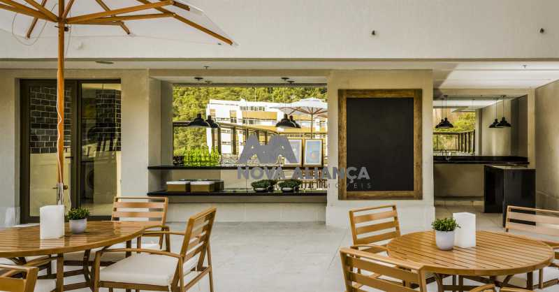 2. - Apartamento à venda Avenida Aquarela do Brasil,São Conrado, Rio de Janeiro - R$ 780.000 - NIAP20693 - 4