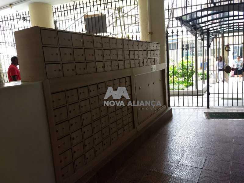 portaria - Kitnet/Conjugado 21m² à venda Rua Bento Lisboa,Catete, Rio de Janeiro - R$ 270.000 - NFKI00192 - 15