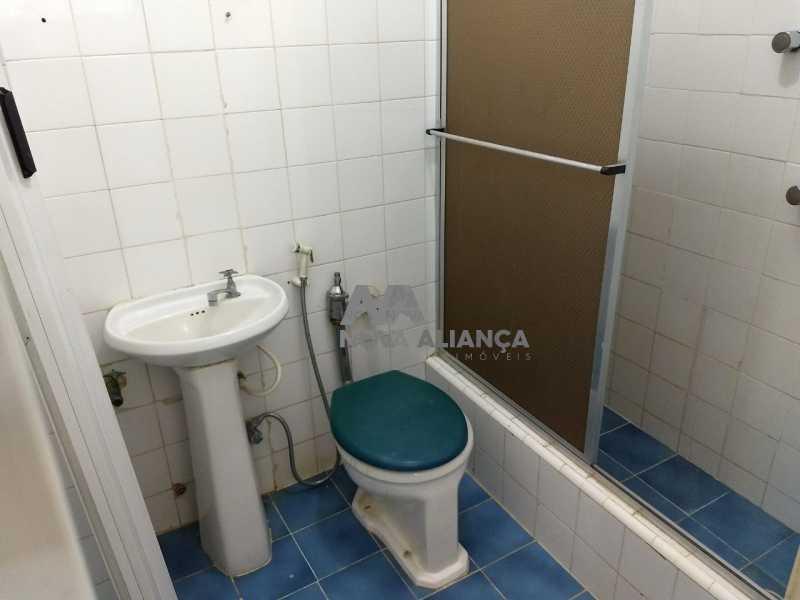 banheiro - Kitnet/Conjugado 21m² à venda Rua Bento Lisboa,Catete, Rio de Janeiro - R$ 270.000 - NFKI00192 - 12