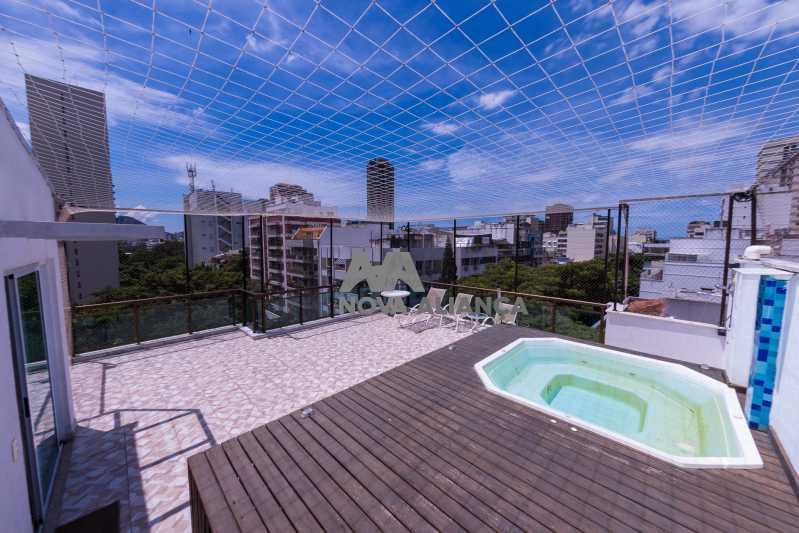 IMG_3957 - Cobertura à venda Rua Cupertino Durão,Leblon, Rio de Janeiro - R$ 5.900.000 - NICO30071 - 1