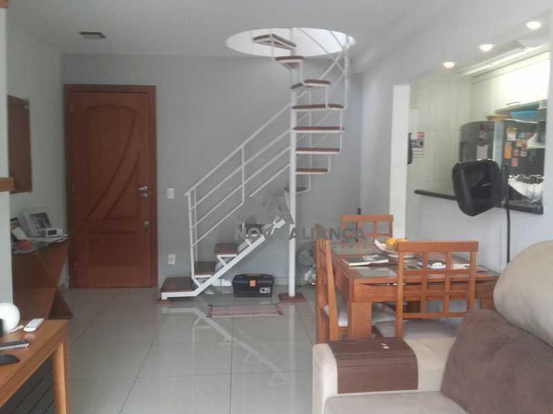 índice18 - Cobertura à venda Rua Senador Jaguaribe,Rocha, Rio de Janeiro - R$ 530.000 - NBCO30115 - 1