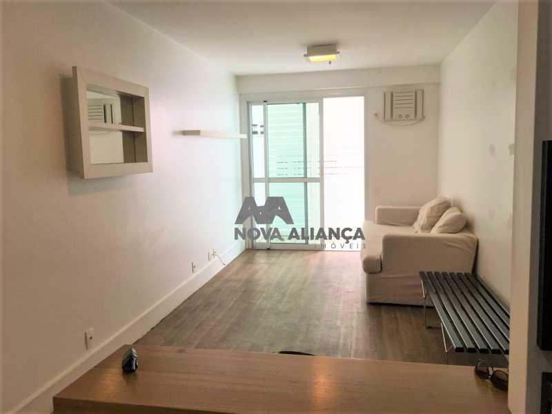 247e8aa0-c73a-4735-bded-df48a0 - Flat à venda Avenida Epitácio Pessoa,Lagoa, Rio de Janeiro - R$ 1.000.000 - NIFL20024 - 4