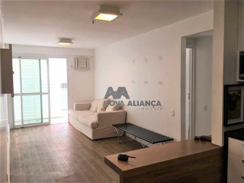 aebe826b-8cb1-476e-b9de-2c4ce0 - Flat à venda Avenida Epitácio Pessoa,Lagoa, Rio de Janeiro - R$ 1.000.000 - NIFL20024 - 1