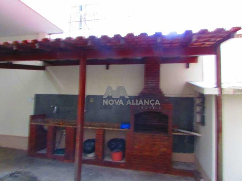 churrasqueira - Apartamento à venda Rua Duquesa de Bragança,Grajaú, Rio de Janeiro - R$ 479.000 - NBAP31108 - 27