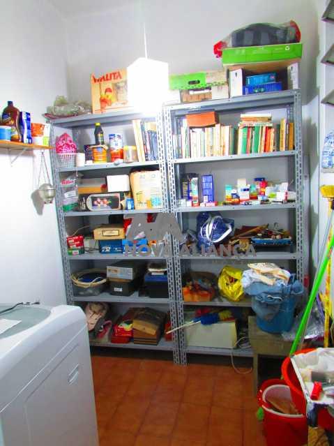 quarto empregada 1 - Apartamento à venda Rua Duquesa de Bragança,Grajaú, Rio de Janeiro - R$ 479.000 - NBAP31108 - 23