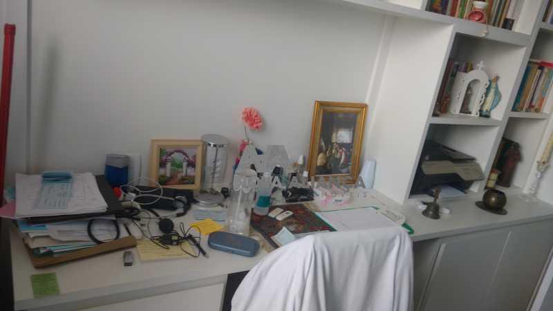 Mesa de escritório espaçosa  - Sala Comercial 28m² à venda Rua Engenheiro Enaldo Cravo Peixoto,Tijuca, Rio de Janeiro - R$ 380.000 - NTSL00051 - 8