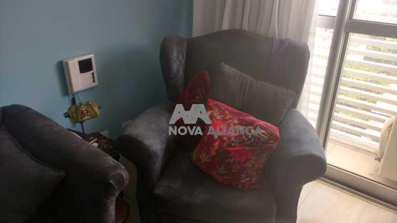 Sala com poltronas novas - Sala Comercial 28m² à venda Rua Engenheiro Enaldo Cravo Peixoto,Tijuca, Rio de Janeiro - R$ 380.000 - NTSL00051 - 4
