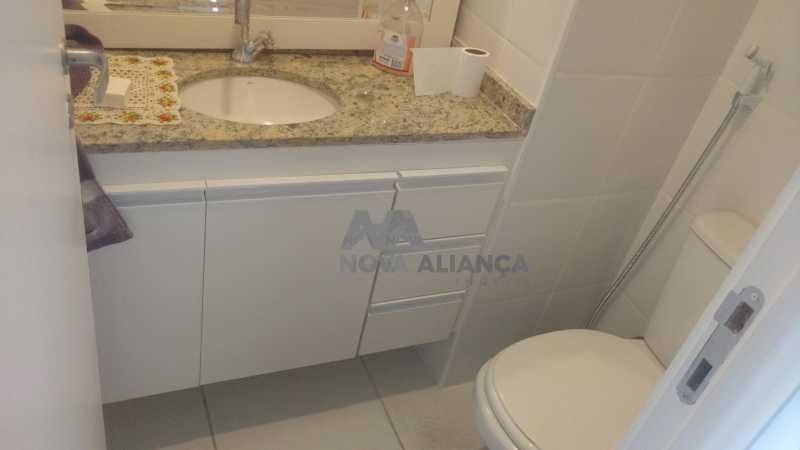 Luxuoso banheiro social  - Sala Comercial 28m² à venda Rua Engenheiro Enaldo Cravo Peixoto,Tijuca, Rio de Janeiro - R$ 380.000 - NTSL00051 - 11
