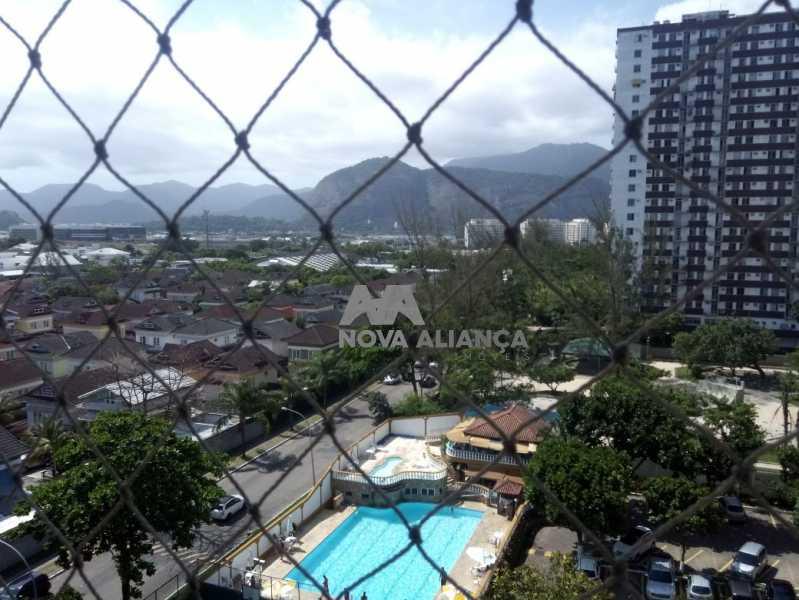 Vista qto - Apartamento 2 quartos à venda Barra da Tijuca, Rio de Janeiro - R$ 420.000 - NCAP20714 - 19