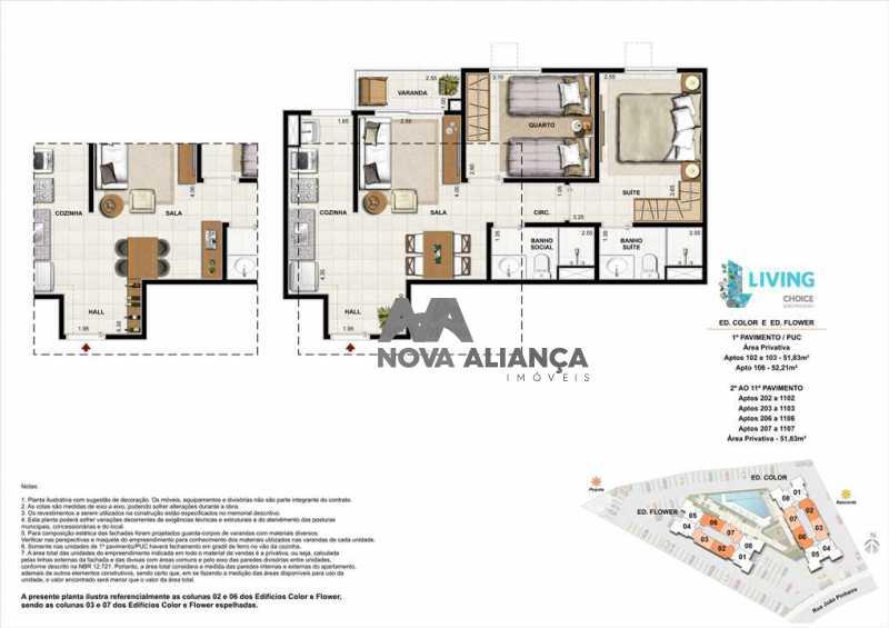 apartamento-living-choice-joao - Apartamento à venda Rua João Pinheiro,Piedade, Rio de Janeiro - R$ 315.000 - NIAP20816 - 25