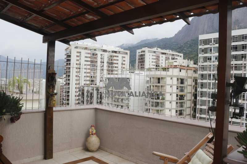 _MG_1916 - Cobertura à venda Rua do Humaitá,Humaitá, Rio de Janeiro - R$ 1.590.000 - NCCO30050 - 1