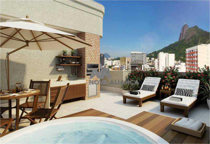 12471_g - Apartamento à venda Rua São Clemente,Botafogo, Rio de Janeiro - R$ 1.350.000 - NBAP31161 - 3