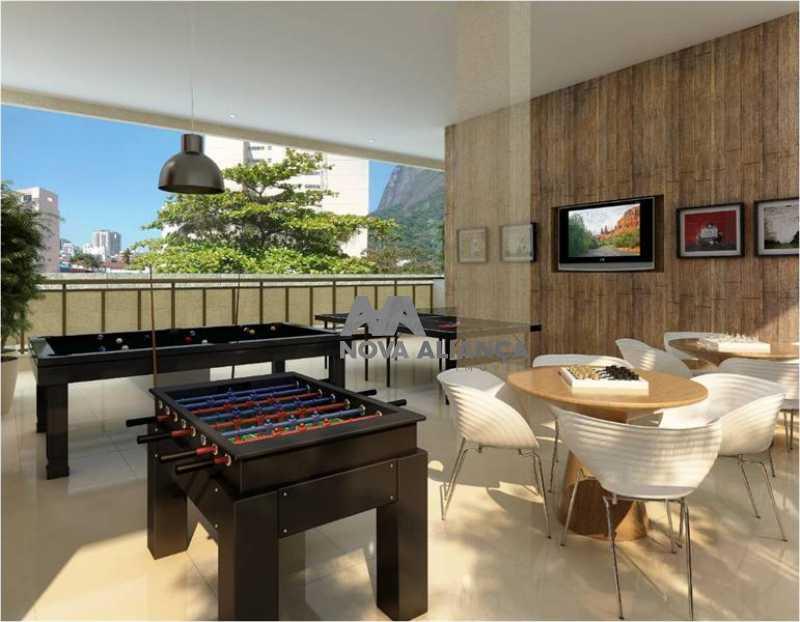 12481_g - Apartamento à venda Rua São Clemente,Botafogo, Rio de Janeiro - R$ 1.350.000 - NBAP31161 - 4
