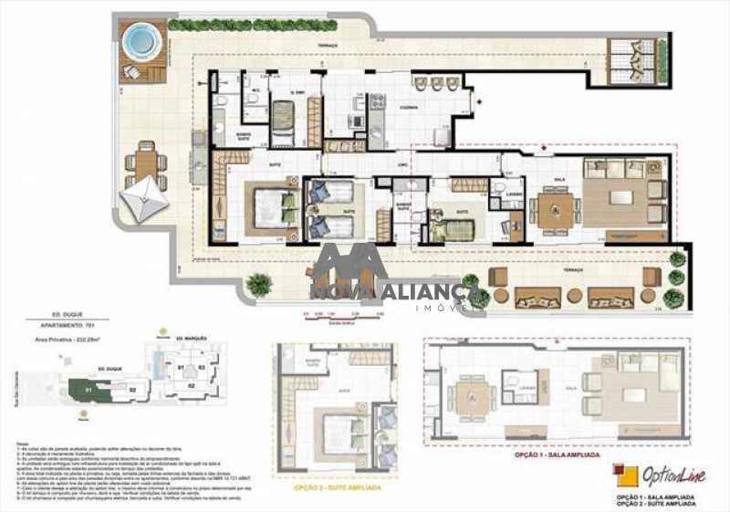 largo_dos_palacios9 - Apartamento à venda Rua São Clemente,Botafogo, Rio de Janeiro - R$ 1.350.000 - NBAP31161 - 14