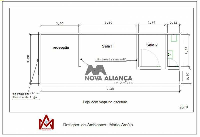 sala 311 - Loja 30m² à venda Rua Visconde de Pirajá,Ipanema, Rio de Janeiro - R$ 750.000 - NILJ00049 - 20