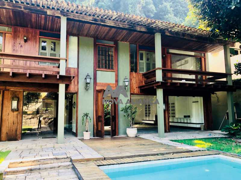 6 - Casa em Condomínio à venda Rua Tenente Arantes Filho,Gávea, Rio de Janeiro - R$ 4.498.000 - NICN60001 - 1