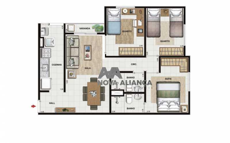 WhatsApp Image 2018-03-22 at 2 - Apartamento 3 quartos à venda Curicica, Rio de Janeiro - R$ 285.000 - NIAP31132 - 26