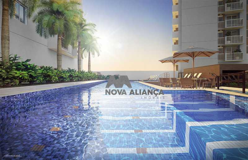 1 - Apartamento à venda Rua Piauí,Cachambi, Rio de Janeiro - R$ 419.000 - NTAP20663 - 1