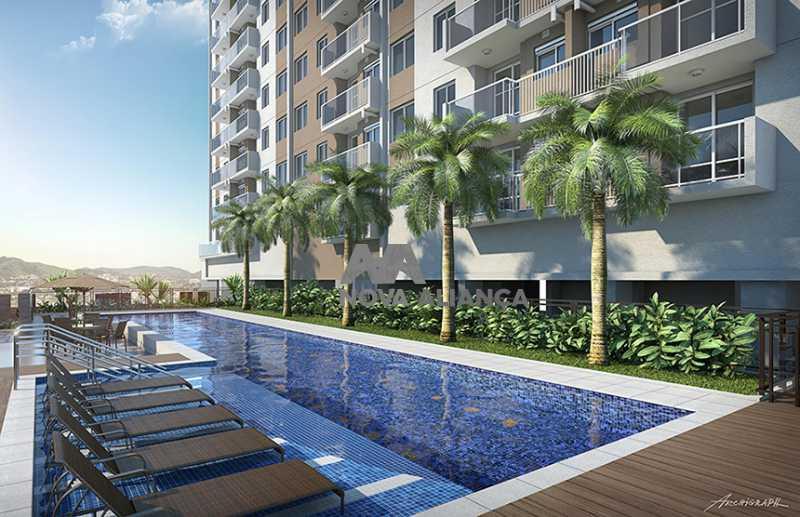 3 - Apartamento à venda Rua Piauí,Cachambi, Rio de Janeiro - R$ 419.000 - NTAP20663 - 4