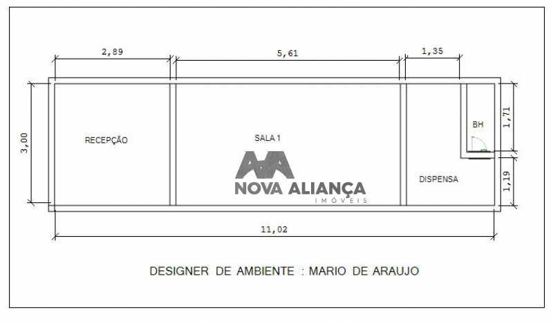 planta - Sobreloja 32m² à venda Rua Visconde de Pirajá,Ipanema, Rio de Janeiro - R$ 750.000 - NISJ00003 - 28