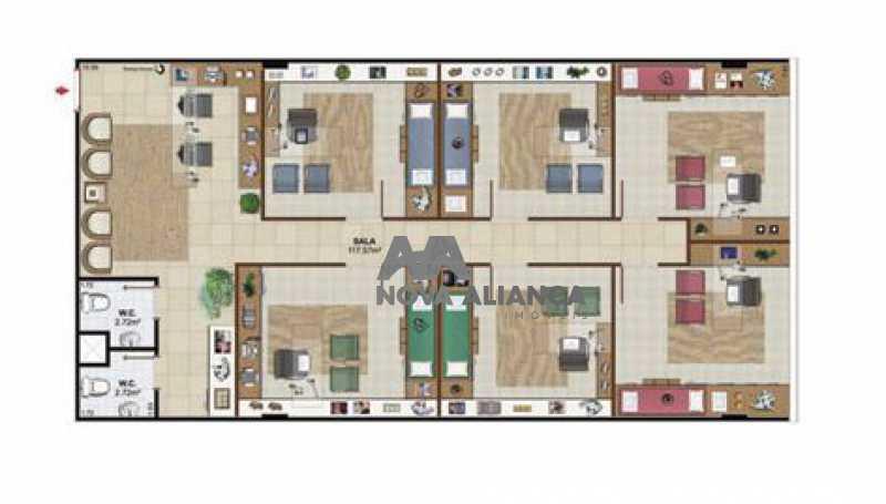 planta 211 - Sala Comercial 123m² à venda Avenida Embaixador Abelardo Bueno,Barra da Tijuca, Rio de Janeiro - R$ 1.082.488 - NISL00085 - 17