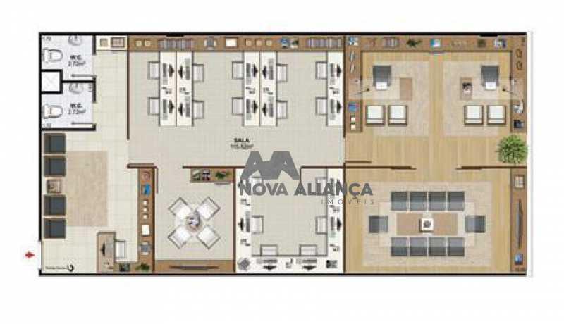 planta 212 - Sala Comercial 120m² à venda Avenida Embaixador Abelardo Bueno,Barra da Tijuca, Rio de Janeiro - R$ 1.064.448 - NISL00086 - 18