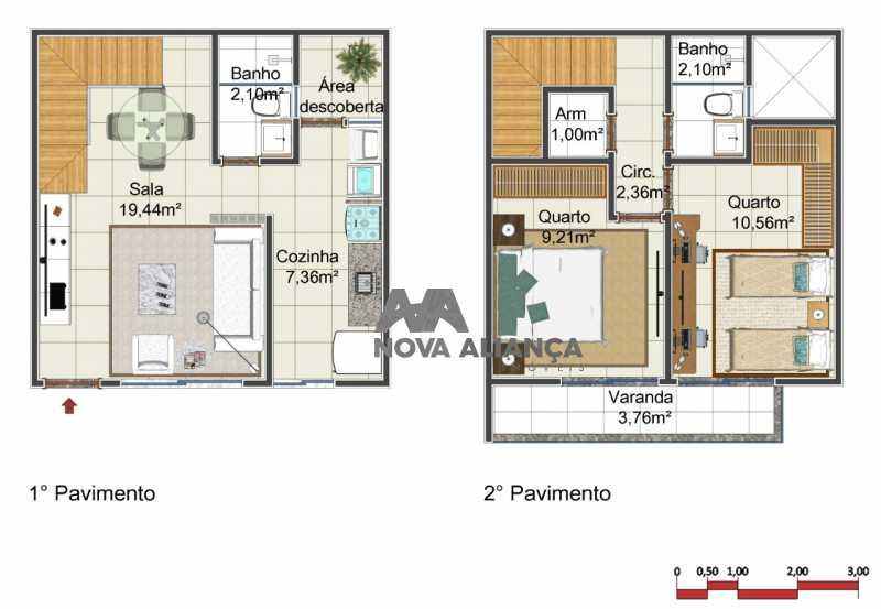 WhatsApp Image 2018-04-07 at 1 - Casa em Condomínio 2 quartos à venda São Francisco Xavier, Rio de Janeiro - R$ 485.000 - NTCN20011 - 5