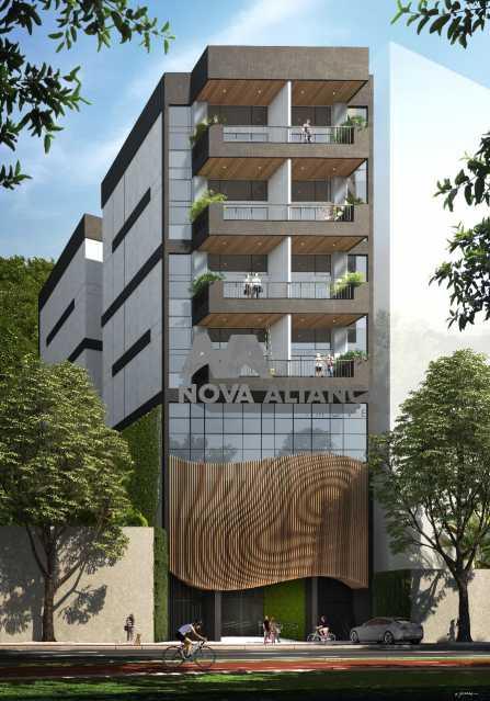 f1. - Cobertura à venda Rua do Humaitá,Humaitá, Rio de Janeiro - R$ 1.920.000 - NICO20036 - 1