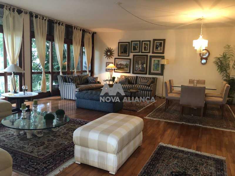 Casa Jb 33. - Casa em Condomínio à venda Rua Pacheco Leão,Jardim Botânico, Rio de Janeiro - R$ 4.900.000 - NICN40009 - 1