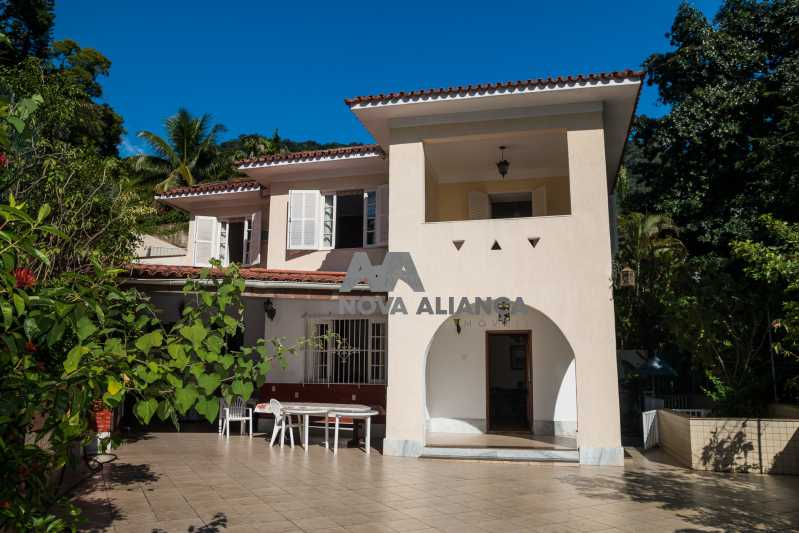 1 - Casa à venda Rua Indiana,Cosme Velho, Rio de Janeiro - R$ 3.200.000 - NFCA50026 - 1