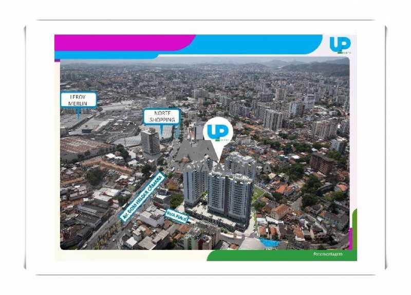 Up-Norte-Cachambi-Prontos-para - Apartamento à venda Rua Piauí,Todos os Santos, Rio de Janeiro - R$ 540.000 - NBAP31289 - 13