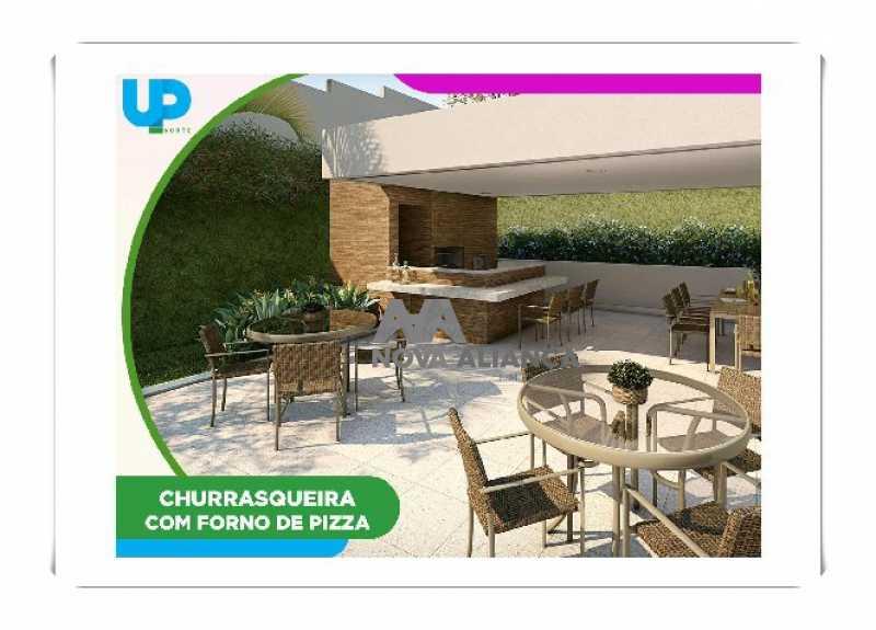 Up-Norte-Cachambi-Prontos-para - Apartamento à venda Rua Piauí,Todos os Santos, Rio de Janeiro - R$ 540.000 - NBAP31289 - 17