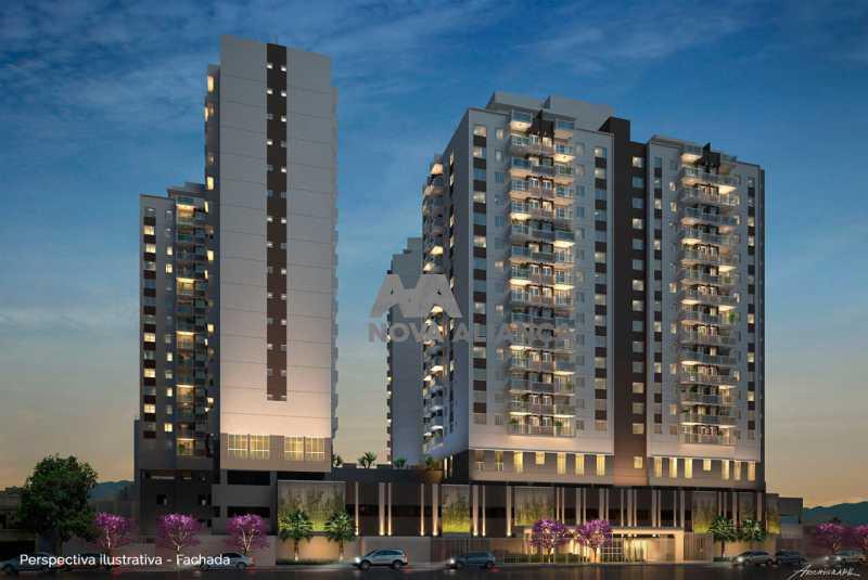 Up-Norte-Cachambi-Prontos-para - Apartamento à venda Rua Piauí,Todos os Santos, Rio de Janeiro - R$ 540.000 - NBAP31289 - 19
