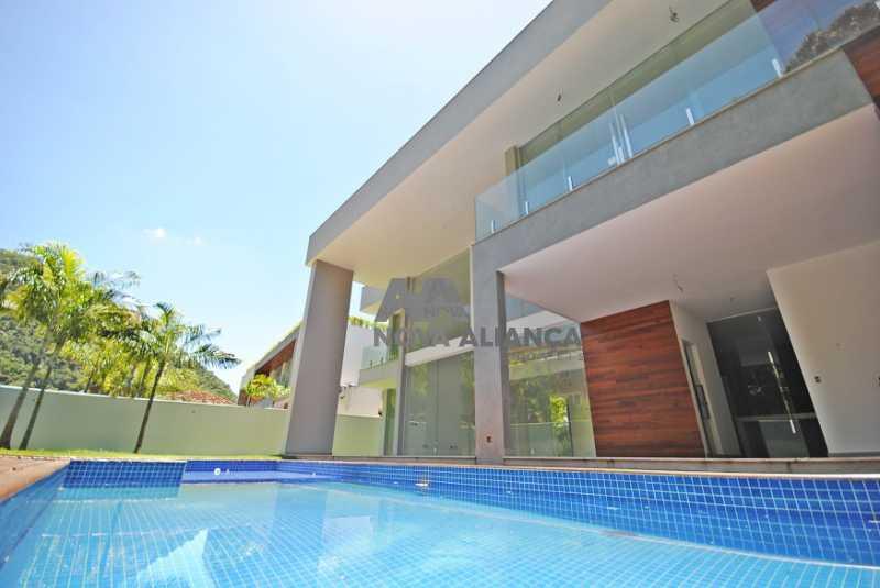 CASA24 - Casa em Condomínio à venda Rua Professor Mikan,São Conrado, Rio de Janeiro - R$ 6.500.000 - NICN40014 - 1