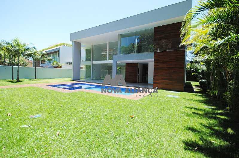 CASA22 - Casa em Condomínio à venda Rua Professor Mikan,São Conrado, Rio de Janeiro - R$ 6.500.000 - NICN40014 - 3