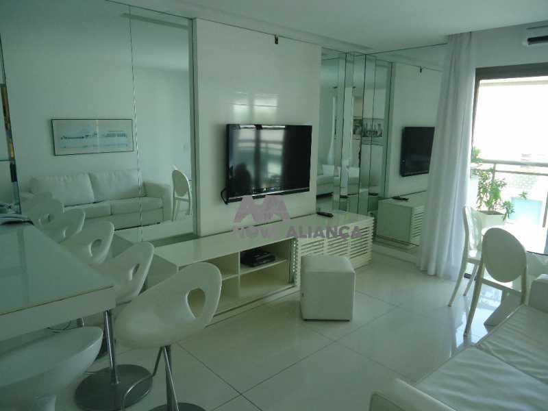 prudente736 - Flat 1 quarto à venda Ipanema, Rio de Janeiro - R$ 1.049.000 - NIFL10065 - 1