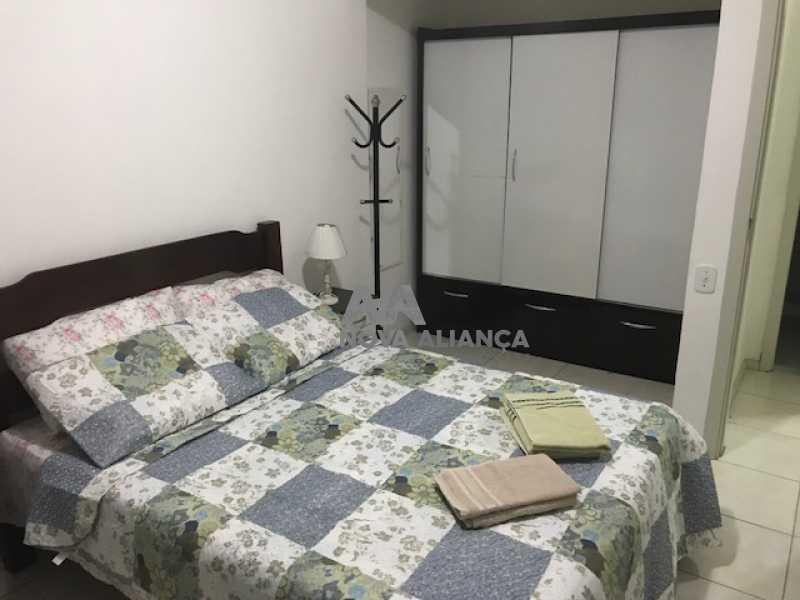 Quarto1F - Flat à venda Rua Barata Ribeiro,Copacabana, Rio de Janeiro - R$ 693.000 - NCFL10042 - 16