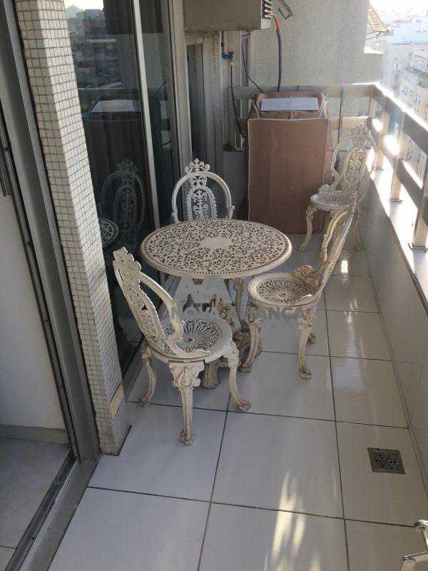 Varanda1 - Flat à venda Rua Barata Ribeiro,Copacabana, Rio de Janeiro - R$ 693.000 - NCFL10042 - 3