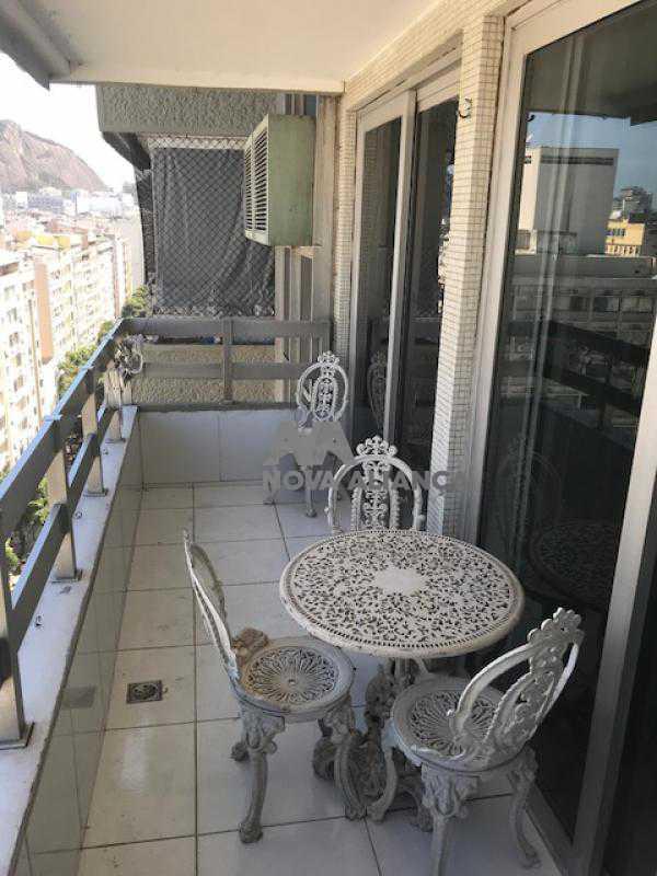 Varanda2 - Flat à venda Rua Barata Ribeiro,Copacabana, Rio de Janeiro - R$ 693.000 - NCFL10042 - 5